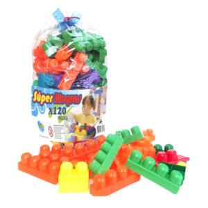 Super Bloques 120 piezas